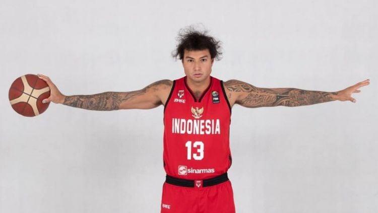 Pemain Timnas Basket Indonesia naturalisasi, Brandon Jawato. Copyright: © Perbasi