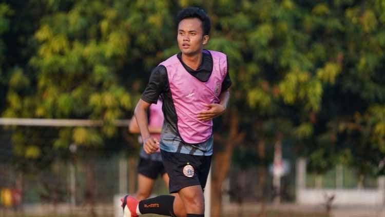 Figo Sapta, pemain Persija Jakarta. Copyright: © Instagram/@figosaptaff