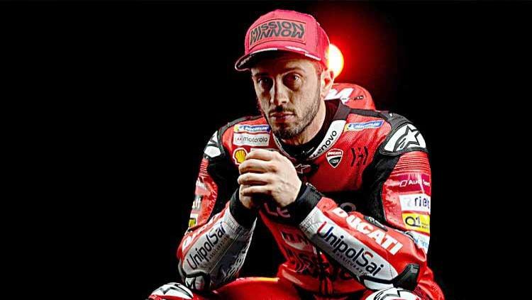 Pembalap Ducati Team, Andrea Dovizioso. Copyright: © Twitter@AndreaDovizioso
