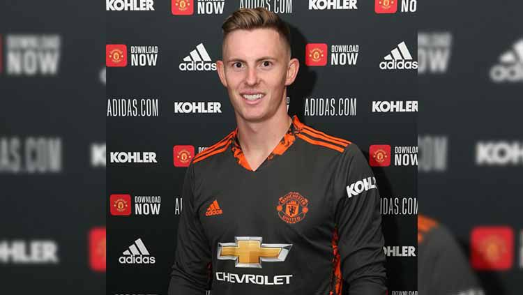 Dean Henderson. Copyright: © John Peters/Manchester United via Getty Images