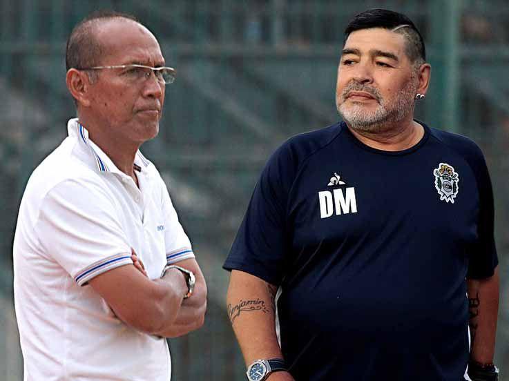 Kenangan Striker Legendaris Indonesia tentang Maradona, Dibikin Melongo!
