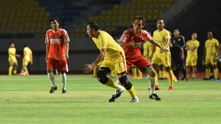 Bhayangkara Solo FC menempati peringkat kedua klasemen sementara Grup B Piala Menpora 2021. Copyright: © Media Bhayangkara FC