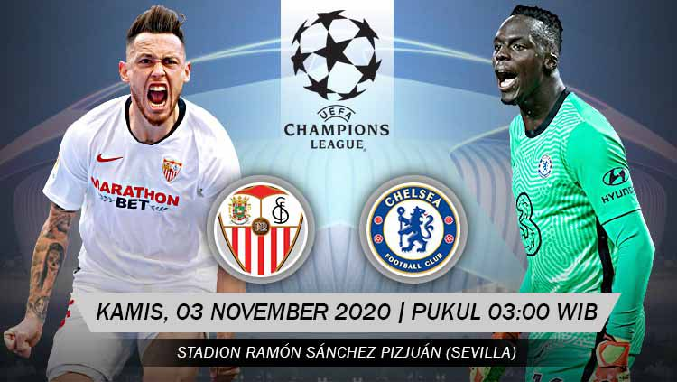 Nhận định, soi kèo Sevilla vs Chelsea, 3h00 ngày 3/12, Champions League - anh 1