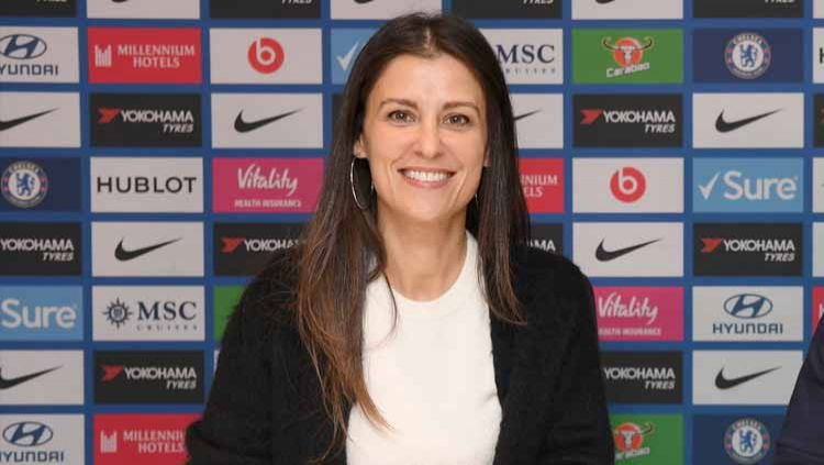 Marina Granovskaia, direktur di Chelsea FC. Copyright: © Darren Walsh/Chelsea FC via Getty Images