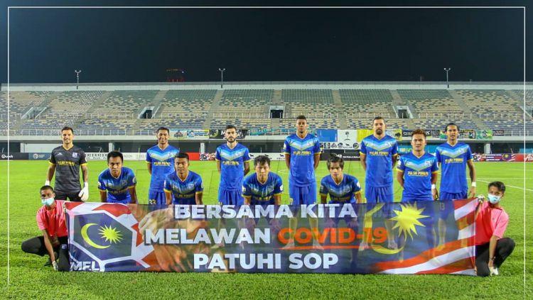 Para pemain Penang FA, klub baru Ryuji Utomo. Copyright: © instagram.com/penangfcofficial