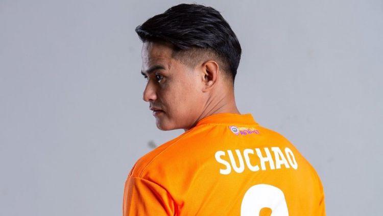 Suchao Nuchnum, mantan pemain Persib Bandung. Copyright: © instagram.com/suchino8