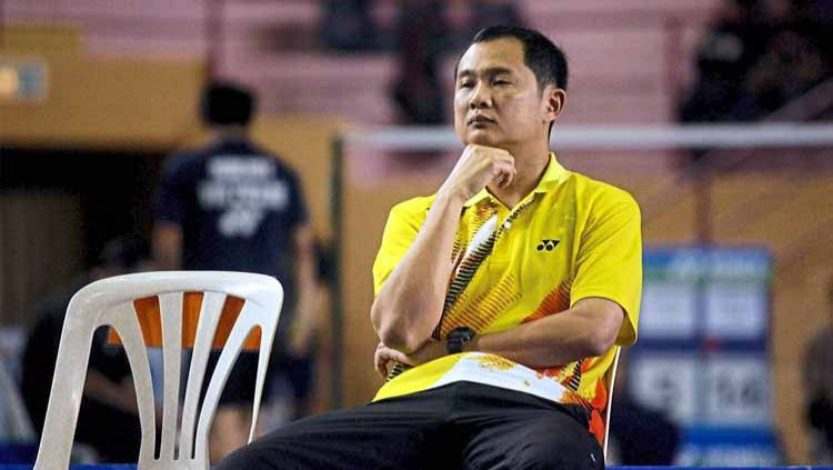 Eks pelatih Indonesia, Wong Tat Meng membuat keputusan untuk tetap mengabdi bersama dengan pelatnas bulutangkis Korea Selatan. Copyright: © thestar