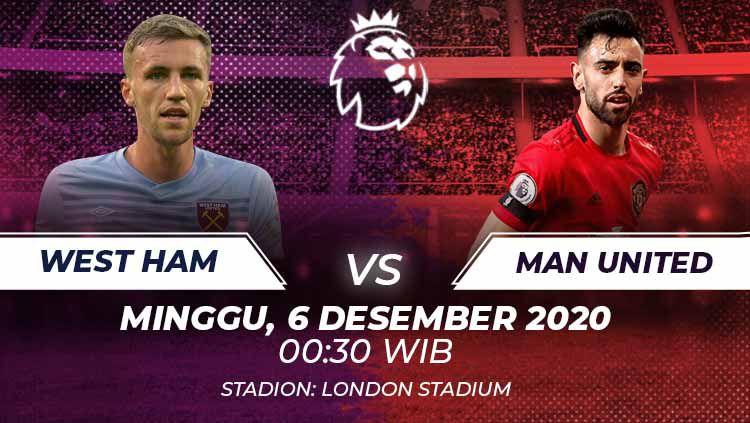 West Ham vs Manchester United. Copyright: © Grafis:Frmn/Indosport.com