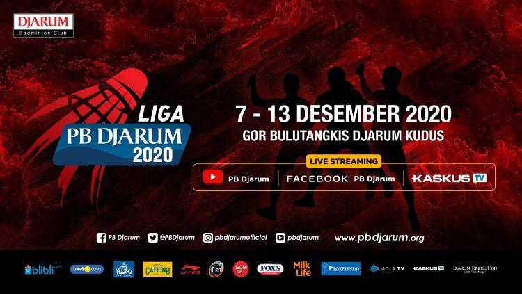 PB Djarum kembali menggelar Liga PB Djarum 2020 di GOR Djarum Jati, Kudus, Jawa Tengah pada 7-13 Desember 2020. Copyright: © PB Djarum