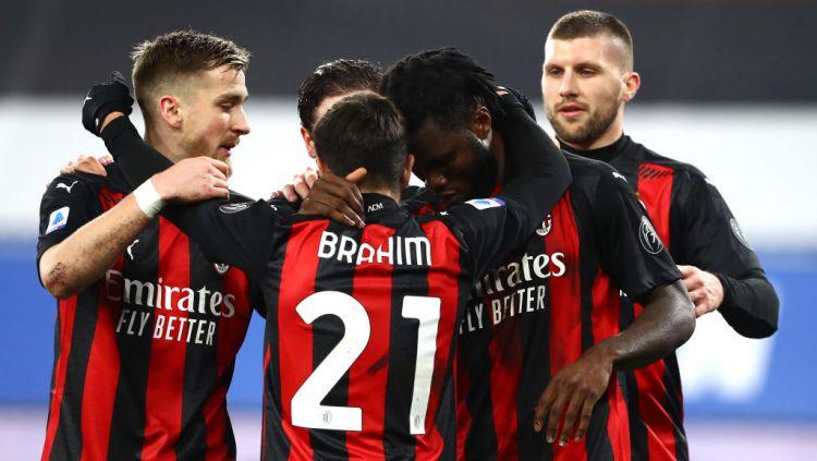 Selangkah lagi AC Milan bakal segera meresmikan kedatangan 2 rekrutan teranyar mereka di bursa transfer musim dingin bulan Januari ini. Copyright: © Marco Luzzani/Getty Images