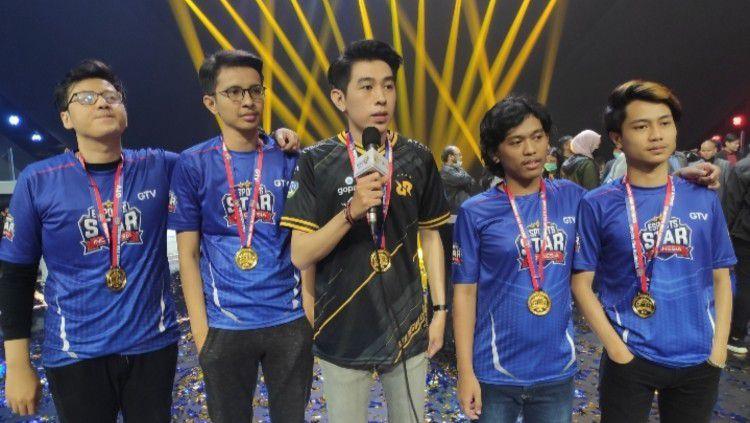Perjalanan para calon bintang eSports di GTV Esports Star Indonesia akhirnya mencapai titik puncak di malam Grand Final Esports Star Indonesia 2020. Copyright: © Rilis