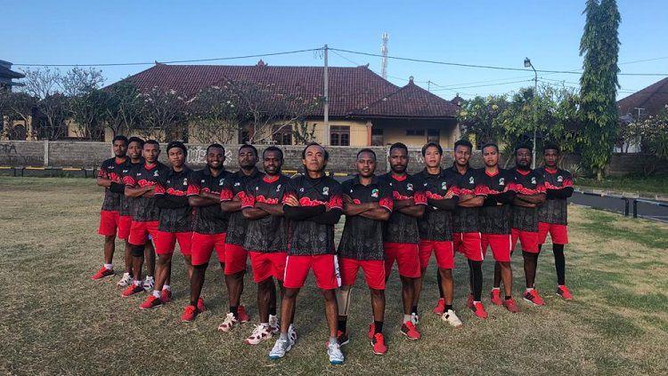 Tim Kriket Putra Papua. Copyright: © Dok. Kriket Papua