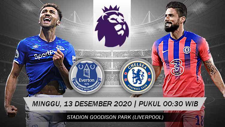 Chelsea tak akan punya alasan untuk tumbang dalam lawatannya ke Goodison Park. Apalagi mengingat kondisi yang tengah dialami Everton. Copyright: © Grafis: Yanto/Indosport.com