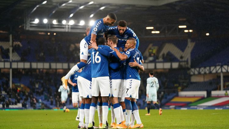 Link Live Streaming Liga Inggris: Everton vs Leicester City. Copyright: © Jon Super/PA Images via Getty Images