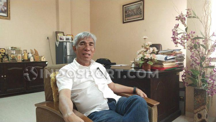 Ketua Umum KONI Sumut, John Ismadi Lubis. Copyright: © Aldi Aulia Anwar/INDOSPORT
