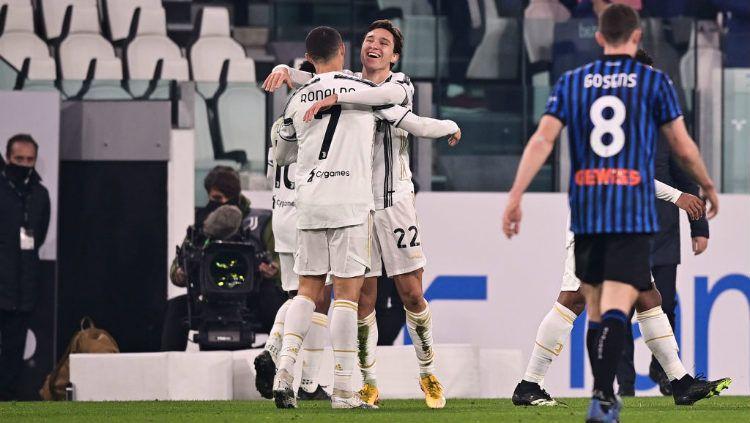 Berikut tersaji hasil pertandingan pekan ke-12 Serie A Liga Italia 2020-2021 antara Juventus vs Atalanta yang berlangsung pada Kamis (17/12/20). Copyright: © Mattia Ozbot/Soccrates/Getty Images