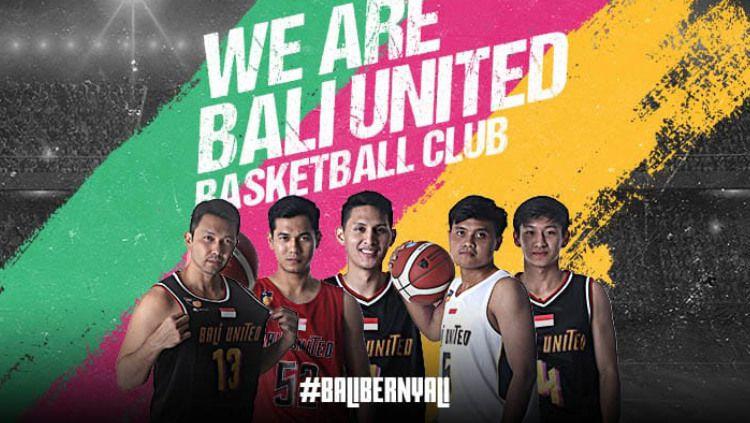 Tim Basket Bali United resmi mengumumkan 15 pemain untuk IBL 2021. Copyright: © Bali United