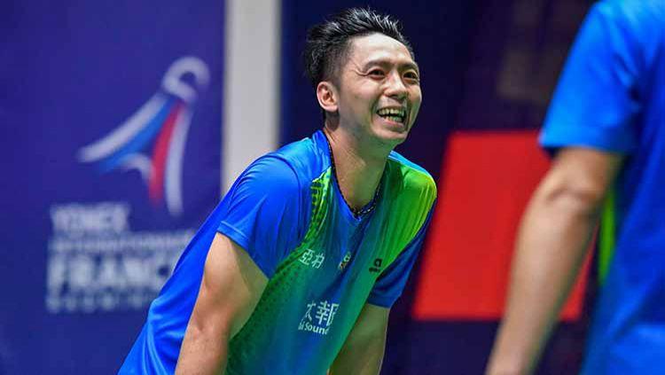 Jelang bergulirnya Thailand Open pada Januari 2021, eks rekan duet teman Kevin Sanjaya yakni Liao Min-chun alami peristiwa buruk. Apa itu? Copyright: © Aude Alcover/Icon Sport via Getty Images