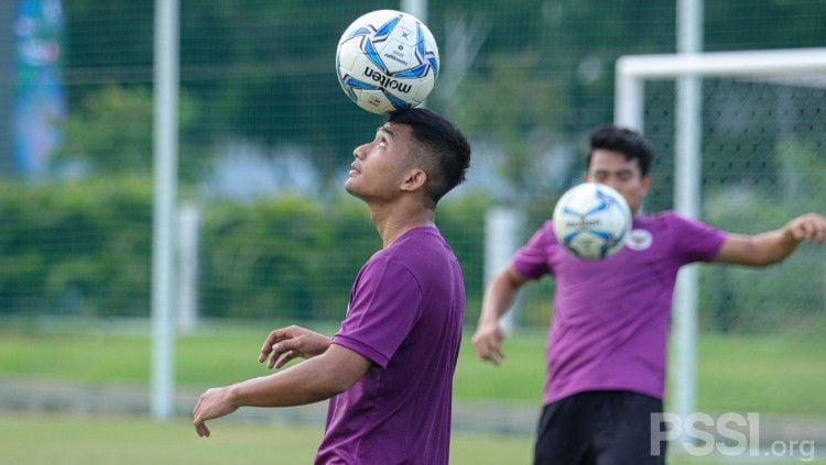 Tim Nasional (Timnas) Indonesia U-23 memiliki serangkaian laga uji coba. Salah satunya skuat Garuda Muda akan menghadapi Timnas Argentina U-23. Copyright: © PSSI