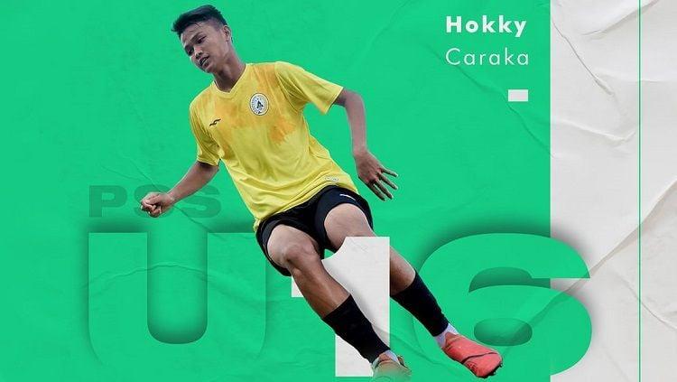 Berikut adalah profil pemain Garuda Select 3, Hokky Caraka Bintang Briliant, pemain jebolan PSS Sleman U-16 yang dijuluki the next Sergio Aguero. Copyright: © PSS Sleman