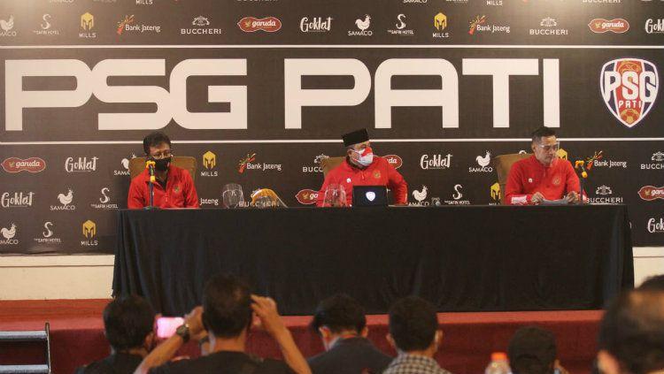 Resmi PSG Boyongan ke Pati. Copyright: © Dok. PSG