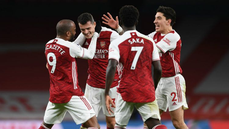 Link Live Streaming Liga Inggris: West Bromwich Albion vs Arsenal. Copyright: © Stuart MacFarlane/Arsenal FC via Getty Images