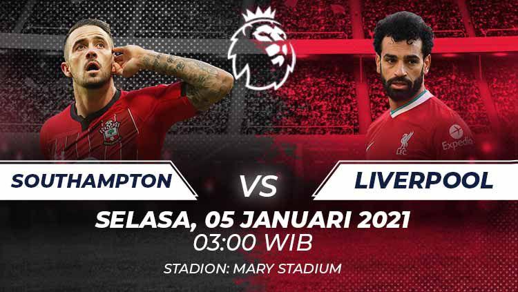 Prediksi Southampton vs Liverpool. Copyright: © Grafis:Frmn/Indosport.com