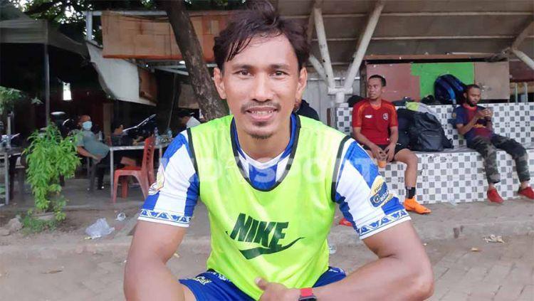 Pemain Senior PSM Makassar, Zulkifli Syukur. Copyright: © Adriyan Adirizky/INDOSPORT