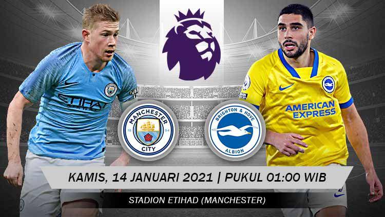 Man City vs Brighton – Thống kê, dự đoán tỷ số, đội hình