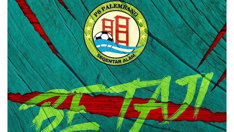 Logo klub Liga 3, PS Palembang. Copyright: © Instagram