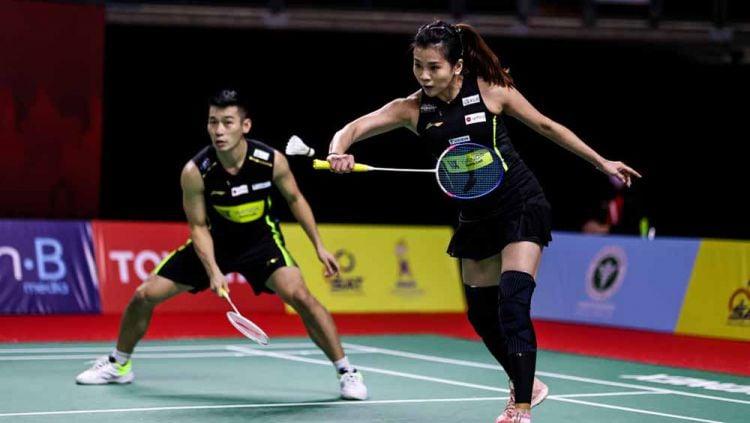 Kejutan lagi-lagi terjadi di Swiss Open 2021, unggulan 5 Chan Peng Soon/Goh Liu Ying takluk di tangan pasangan Denmark yang jago bahasa Indonesia. Copyright: © Shi Tang/Getty Images