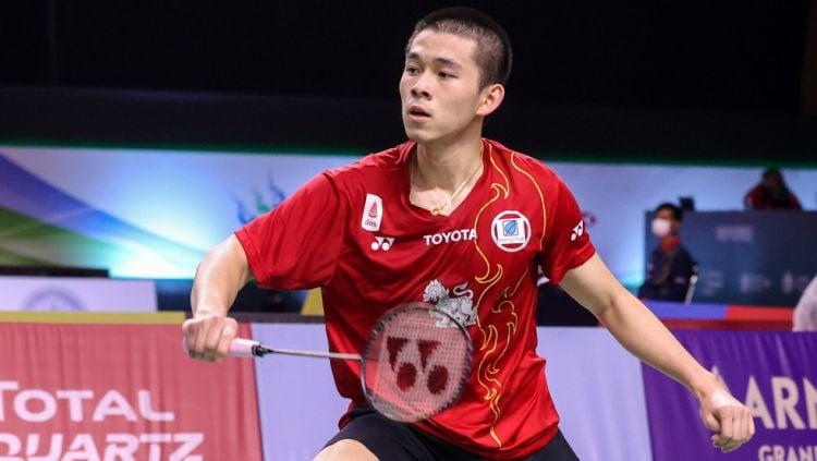 Ranking BWF: Diam-diam Wonderkid Thailand Dekati Tunggal Putra Ketiga Indonesia Copyright: © BWF Badminton