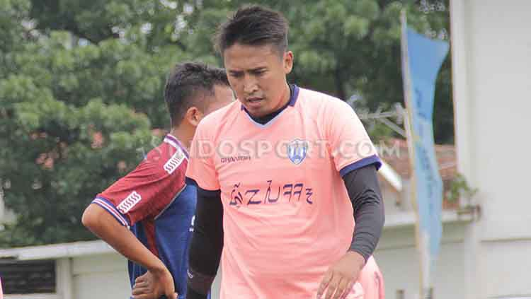 Pelatih tim futsal Jawa Barat untuk PON XX Papua 2021, Panca Pauji. Copyright: © Arif Rahman/INDOSPORT