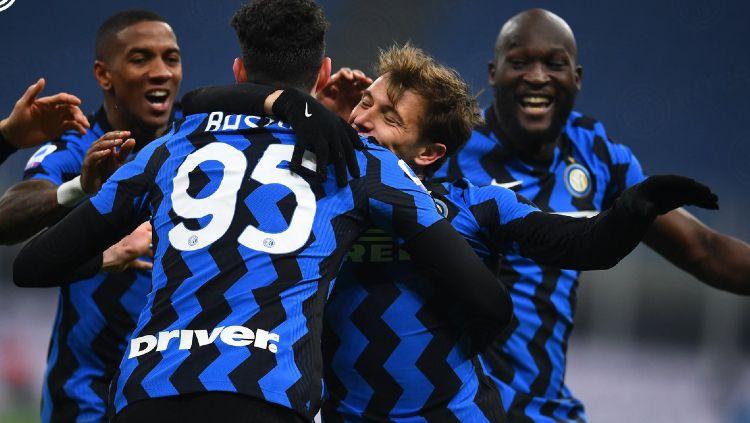 Pertandingan Inter Milan kontra Juventus di Liga Italia Copyright: © twitter.com/Inter_en