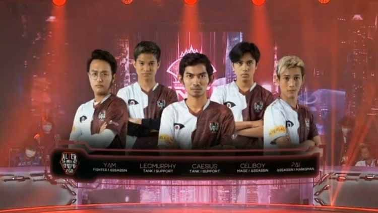 Berikut adalah hasil play off Mobile Legends World Championship (M2) hari pertama, Jumat (22/01/21), antara tim Indonesia. Copyright: © Screenshot Youtube MPL Indonesia