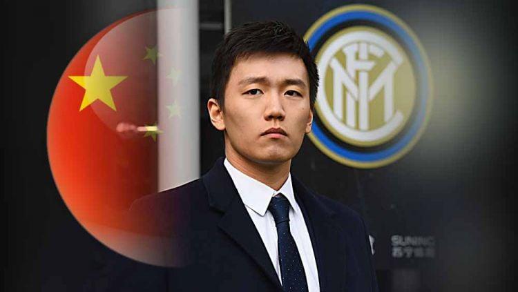 Inter Milan telah menyiapkan rencana gila di luar nalar untuk lepas dari jerat ancaman kebangkrutan yang mengintai mereka. Copyright: © Grafis:Yanto/Indosport.com/Foto:Claudio Villa - Inter/Inter via Getty Images