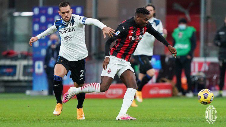 Duel di laga AC Milan vs Atalanta Copyright: © twitter.com/acmilan