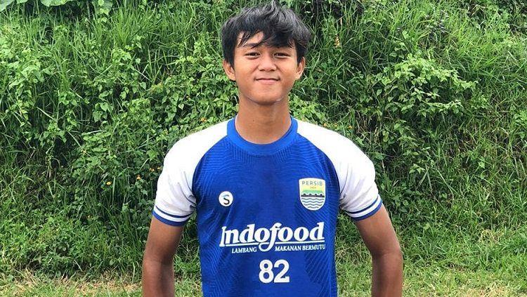Pemain muda Persib Bandung, Ridwan Ansori. Copyright: © Instagram