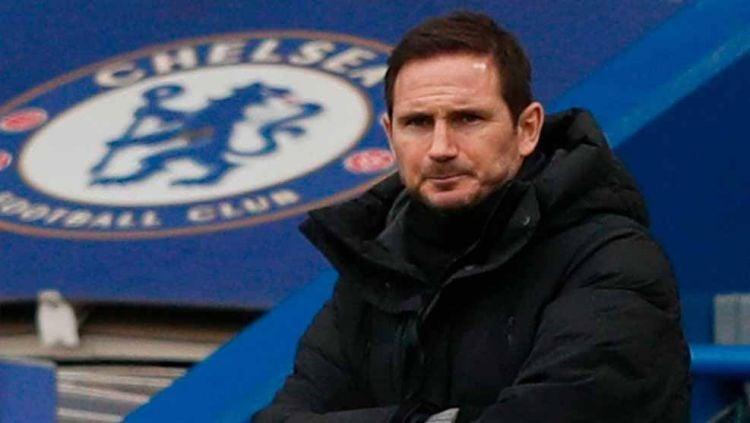 Sambut kans balas dendam ke Thomas Tuchel sekaligus Chelsea, Frank Lampard bakal gabung rival Liga Inggris ini? Copyright: © ADRIAN DENNIS/AFP via Getty Images
