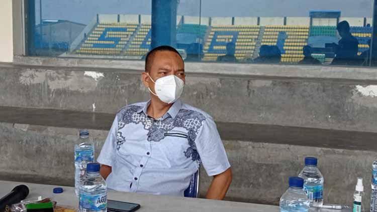 Anggota Komisi X DPR RI yang juga pegiat olahraga, Yoyok Sukawi. Copyright: © Alvin Syaptia/INDOSPORT