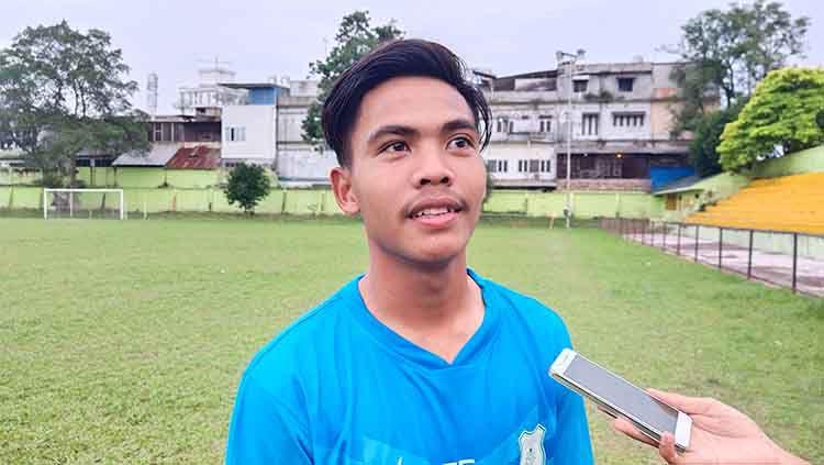 Bintang timnas Indonesia U-19, David Maulana. Copyright: © Aldi Aulia Anwar/INDOSPORT