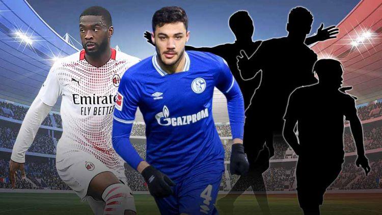 Berikut ini kami rangkum lima transfer pemain terbaik yang terjadi di bursa transfer musim dingin 2021. Copyright: © Grafis:Yanto/Indosport.com