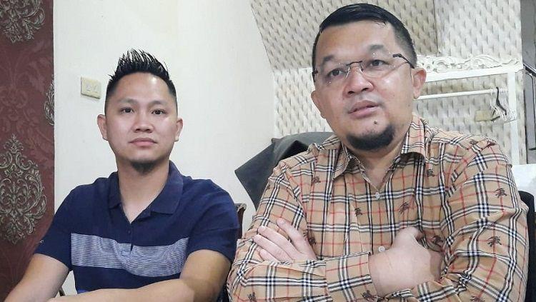 Presiden Sriwijaya FC Hendri Zainuddin beri isyarat posisi manajer tim tetap dipegang Muhammad Fadli meski yang bersangkutan telah mengundurkan diri. Copyright: © Media Sriwijaya FC