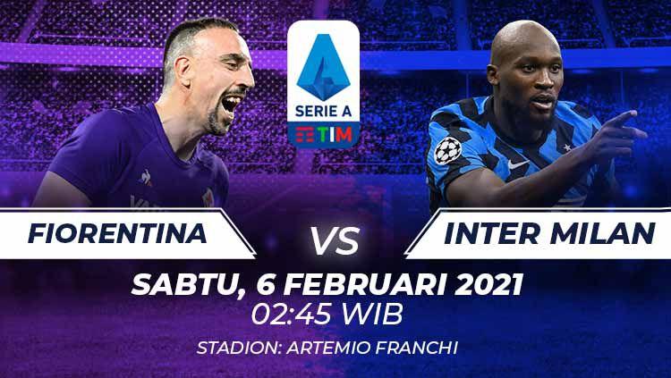 Berikut prediksi Serie A Liga Italia antara Fiorentina vs Inter Milan. Copyright: © Grafis:Frmn/Indosport.com