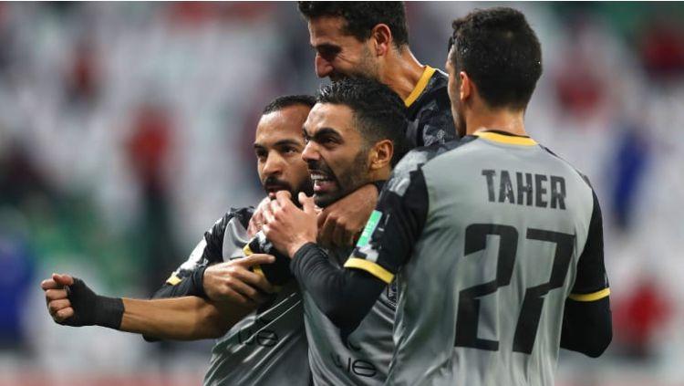 Pertandingan Al Ahly di Piala Dunia Antarklub 2020 Copyright: © twitter.com/ClubWorldCups