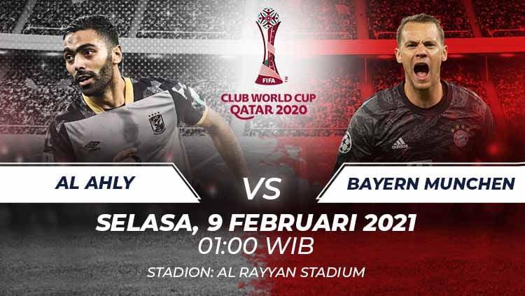 Berikut prediksi Club World Cup antara Al Ahly vs Bayern Munchen. Copyright: © Grafis:Frmn/Indosport.com