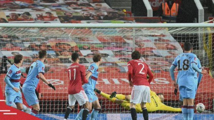 Pertandingan Piala FA Manchester United vs West Ham United Copyright: © twitter.com/manutd