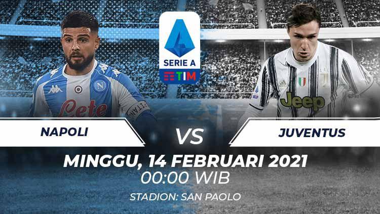 Link Live Streaming Serie A Liga Italia: Napoli vs Juventus Copyright: © Grafis:Frmn/Indosport.com