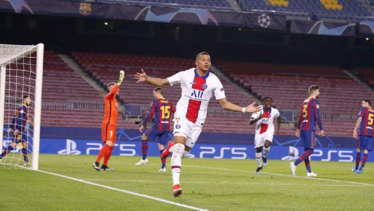 Permalukan Barcelona, Kylian Mbappe Kini Setara dengan Legenda AC Milan Copyright: © Twitter @PSG_English