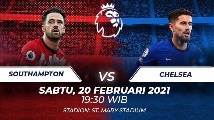 Southampton vs Chelsea. Copyright: © Grafis:Frmn/Indosport.com